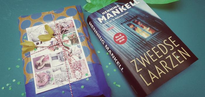 En de winnaar van het boek ´Zweedse laarzen´van Henning Mankell is geworden...
