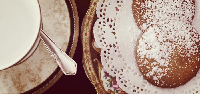 Een geheugensteuntje bij het maken van een lekker koekje bij de thee