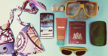 energiek op vakantie